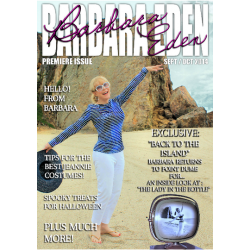 Barbara Eden Digital Magazine, the Premiere Issue! (September/October 2014)