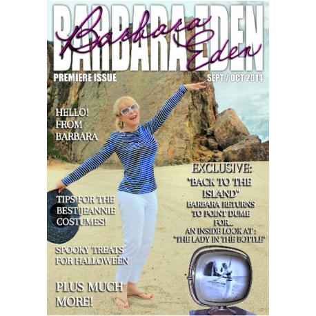 Barbara Eden Digital Magazine, the Premiere Issue! (September/October 2014)
