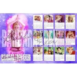 """""""2016"""" 11x17 Calendar Poster"""