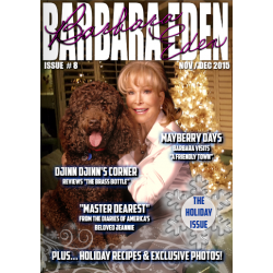Barbara Eden Digital Magazine, the Holiday Issue! (Nov/Dec 2015)