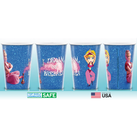 """I Dream of Barbara"" 20 oz Plastic Cup (Reusable! BPA Free!)"