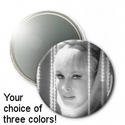 "Barbara Eden 3"" Button Mirror"