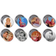 "Barbara Eden 3"" Buttons (Pack 1 & Pack 2 Combo)"
