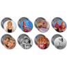 """Barbara Eden 3"""" Buttons (Pack 1 & Pack 2 Combo)"""