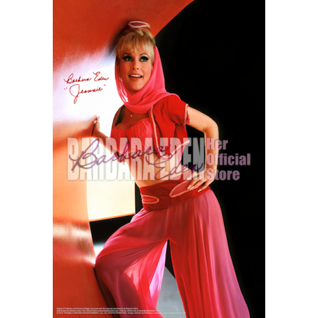 Barbara Eden 24x36 Poster (Signed by Barbara Eden)