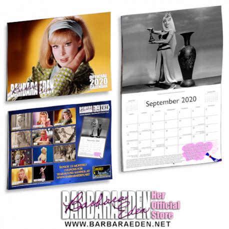 2020 Barbara Eden Calendar