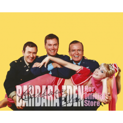 3 MEN & A JEANNIE Personalized Autograph (8x10)