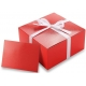 Gift Wrap Option Example - Red Gift Box with card