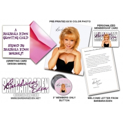 Barbara Eden Fan Club Membership (1 Year)