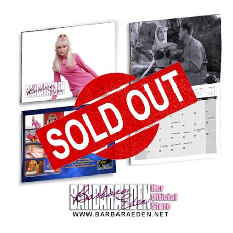 2021 Barbara Eden Calendar