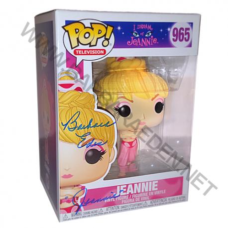 Jeannie POP! Vinyl (Box Autographed by Barbara Eden)