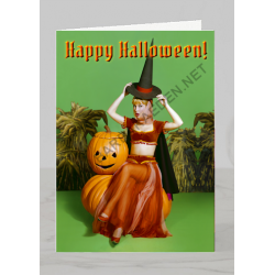 Halloween Greeting Card (Bewitching)