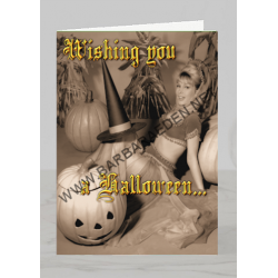 Halloween Greeting Card (Witch Way)