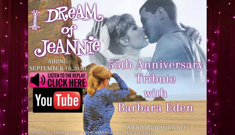 I Dream of Jeannie 55th Anniversary