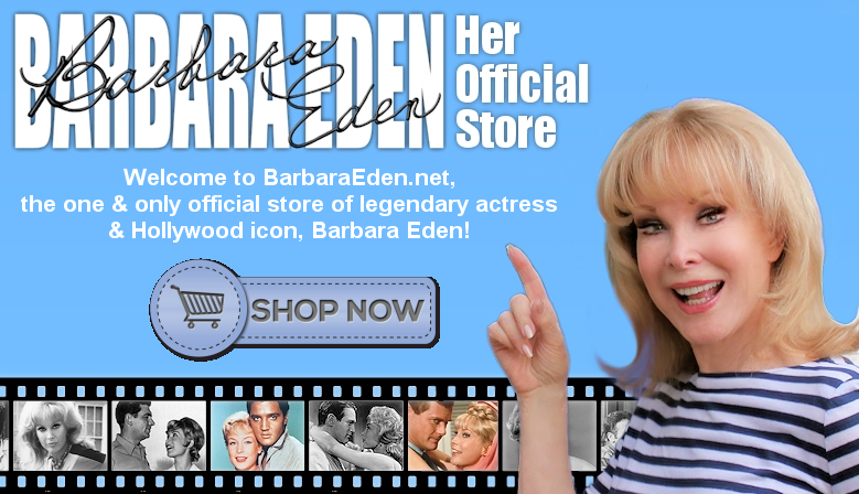 Welcome to Barbara Eden: Her Official Store!